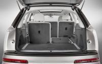 Ауди Q7 2015 года, багажник